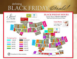 our black friday map has all the town center