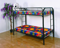 Metal Bunk Bed With Futon Furniture Wonderful Brown Futon Sofa Best Images About On Twin
