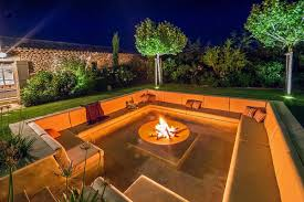 cozy fire pit sitting area cozyplaces