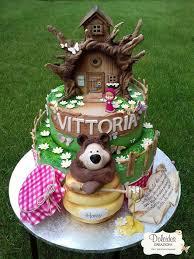239 masha bear cakes images bear cakes