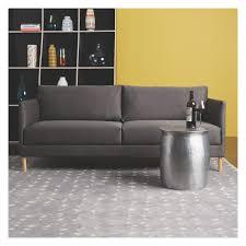 Habitat Side Table Orrico Hammered Aluminium Side Table Grey Fabric Craftsman And