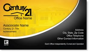 Century 21 Business Cards Century 21 Real Estate Business Card Century 21 Business Cards