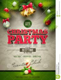free christmas party poster template rainforest islands ferry