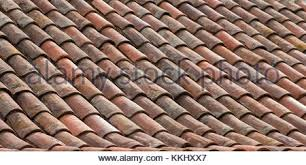Ceramic Tile Roof Perspective Old Roof Pattern Tiles On Old Roof Architecture