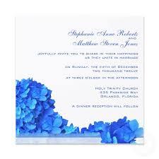 wedding invitations blue blue hydrangea wedding invitations elegantweddinginvites