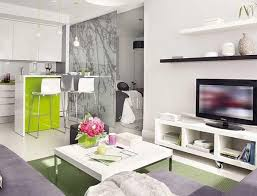 interesting 70 small apartment living room and kitchen decorating