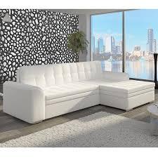 canapé angle blanc meuble salon canape canapé angle convertible blanc sofamobili