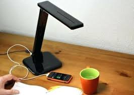 desk with usb ports desk lamp with port and power outlet table