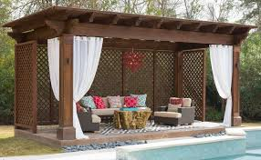 Outdoor Cabana Curtains Privacy Outdoor Curtain Panel For Porch Nicetown