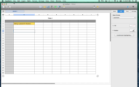 Imac Spreadsheet Password Protect Numbers Spreadsheet On A Mac