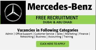 vacancies at mercedes pin by gulfjobsdubai on in uae dubai mercedes