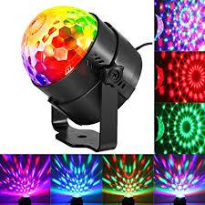 sound activated dj lights amazon com dj light sound activated party lights disco ball