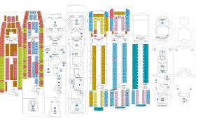 Carnival Breeze Floor Plan by Verandah Deck Deck Plan Carnival Glory