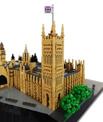 palace of westminster london a lego creation by rocco buttliere