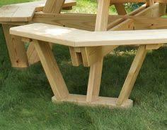 Free Octagon Picnic Table Plans by Treated Pine Octagon Walk In Picnic Table Hexagon Picnic Table