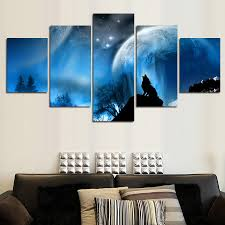 Home Decor Canvas Art Aliexpress Com Buy Paintings Wall Art Luxury Elegant 5pcs Canvas
