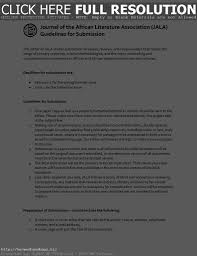 ideas of cover letter journal article examples with additional