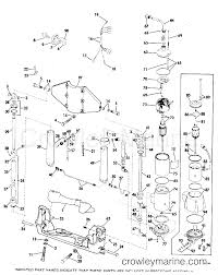 power tilt and trim 55 hp 1978 rigging parts accessories power