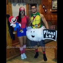Cool Guy Costumes Halloween Homemade Mario Lakitu Final Lap Guy Couple Costume