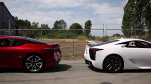 how much does a lexus lc 500 cost lexus lc 500 vs lexus lfa rev off youtube