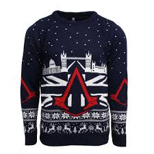 christmas jumper official assassin s creed syndicate christmas jumper