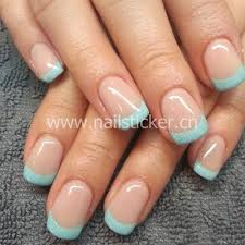 custom french nai art sticker french manicure tip guides factory