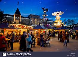 Karlsruhe Baden Baden Christmas Market Karlsruhe Baden Wuerttemberg Germany Europe