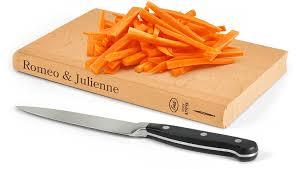 amazon com fred romeo u0026 julienne cutting board kitchen u0026 dining