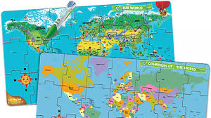World Map Puzzles by Leapreader U2013 Early Learning Shop