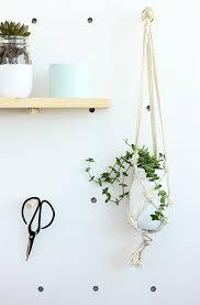 Simple Macrame Plant Hanger - and loisdiy easy macrame plant hanger and lois