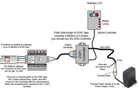 rgb led strip controller circuit diagram www ledstripsales within