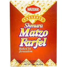 matzah farfel shmura matzo farfel passover seasonskosher online kosher