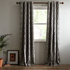 Standard Curtain Length South Africa by Buy John Lewis Native Weave Lined Eyelet Curtains John Lewis