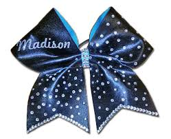 blue bows color bows blue bows the cheer boutique specializing in
