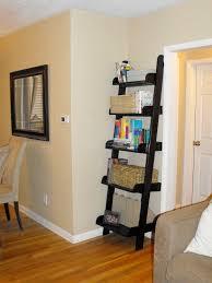 ana white leaning bookshelf narrow diy projects