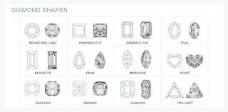 diamond ring cuts diamond shapes diamond buyers guide ernest jones