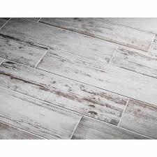 lowes white washed kitchen cabinets lowe s southend whitewashed wood glazed porcelain tile