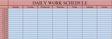 daily schedule template it u0027s a plan daily schedule printable
