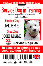 uk service dog id tags the sewing network