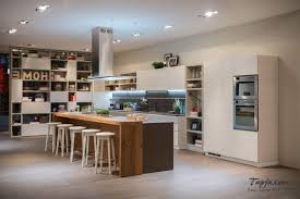 kitchen design ideas brick wall industrial kitchen open shelves