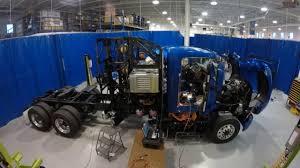 truck toyota building the toyota portal hydrogen semi truck youtube