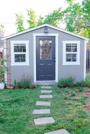 she shed update for even better backyard