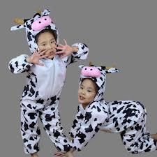 Halloween Costume Baby Aliexpress Buy Children Kids Toddler Cartoon Animal Milk