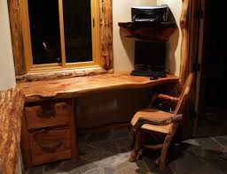 picture of wood rustic furniture country desk country