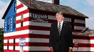 the patriotic trump house latrobe pa youtube