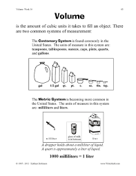 Metric Mania Worksheet Math Volume Worksheets U0026 Geometry Worksheets Geometry Worksheets