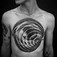 tattoo 3d design chest 40 3d chest tattoo designs for men manly ink ideas