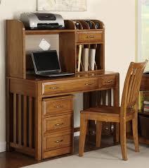 hampton bay writing desk hutch in oak finish by liberty furniture 719 ho111