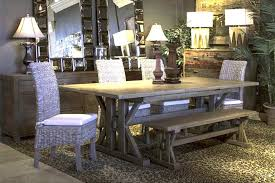 enchanting reclaimed wood dining table and chairs oak kitchen