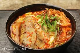 cara membuat pancake kimchi resep sup kepala salmon dentist chef